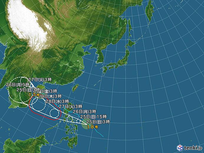 新たな台風が発生 でも 12年ぶりに上陸なしか 紅葉にも好条件