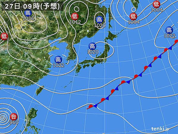 関東付近の上空には12月並みの寒気 影響は?