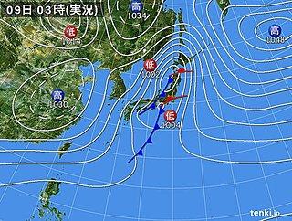 9日 関東と東北、北海道で春の嵐