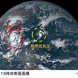 台風18号「非常に強い勢力」に 眼も