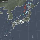 日本海に雷雲 北海道~北陸はあすにかけ大気の状態が非常に不安定