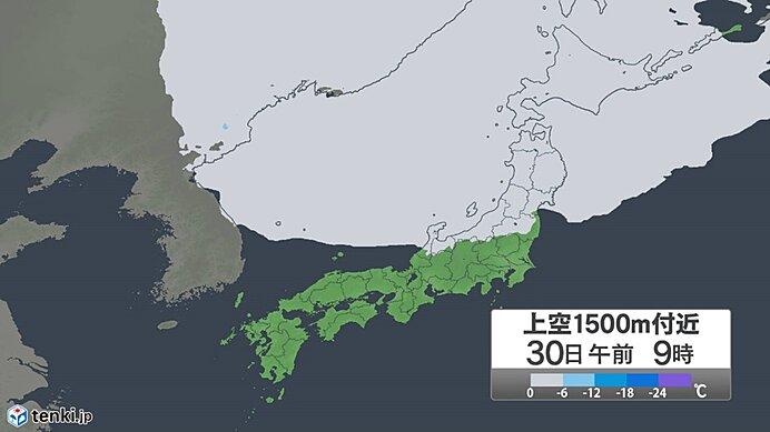 週間 季節が大きく前進 来週にかけて寒気が2度 北海道は積雪か_画像