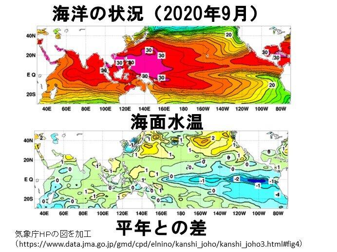 ラニーニャ現象続く 10月の台風発生に特徴が! 晩秋~冬の寒さどうなる_画像