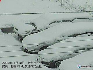 大雪に真冬日に… 北海道は一気に冬へ