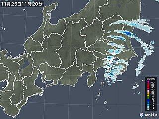 東京 午前11時の気温ひと桁 関東の冷たい雨いつまで