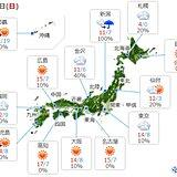 29日 日曜日の天気 冬の天気分布 師走の寒さも
