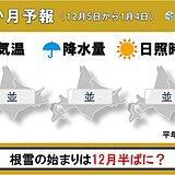 北海道の1か月 根雪の始まりは12月半ばに?