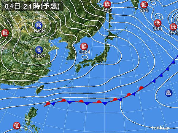 日本海側は雪や雨 太平洋側は大体晴れる