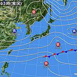 6日 きのうよりも晴れのエリアが広がる 関東や北陸も日差し暖か