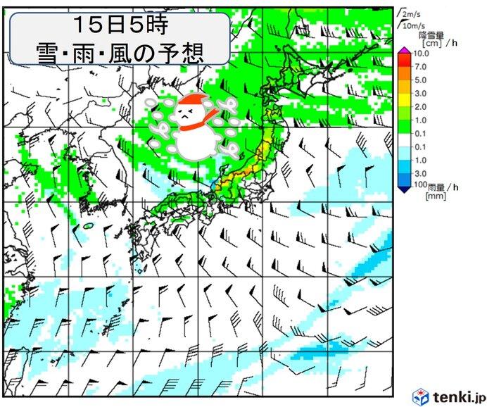 来週 東海などでも積雪か 日本海側で大雪の恐れ 一気に厳寒