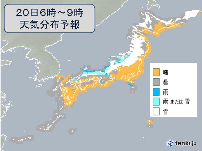 強烈寒気 日曜も大雪や吹雪 交通障害に警戒 全国的に真冬の寒さ