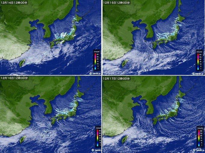 各地で12月の雪の記録を更新 観測史上1位も