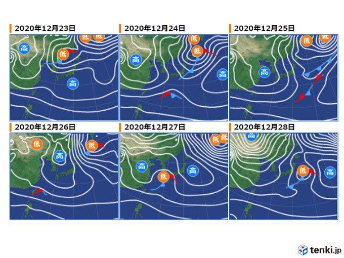 今週は大雪・寒気は解消 北日本でも雨か 来週は再び大雪の可能性も