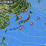 28日 午前中は雨や雪 午後は西ほど晴れて気温上昇 11月並みも