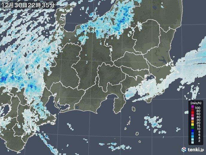銚子で初雪