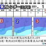 厳寒の2021年スタート 北国は冷凍庫並みの正月三が日