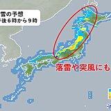 こんや遅くにかけても 北海道から北陸 大雪や吹雪に警戒