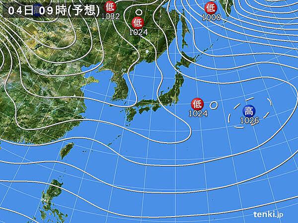 4日 北海道や東北の日本海側を中心に雪やふぶき 北陸は雨に