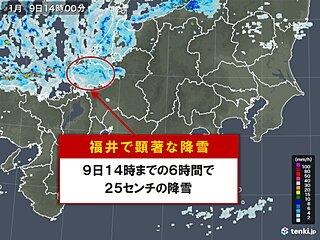 「顕著な大雪に関する福井県気象情報」気象台発表