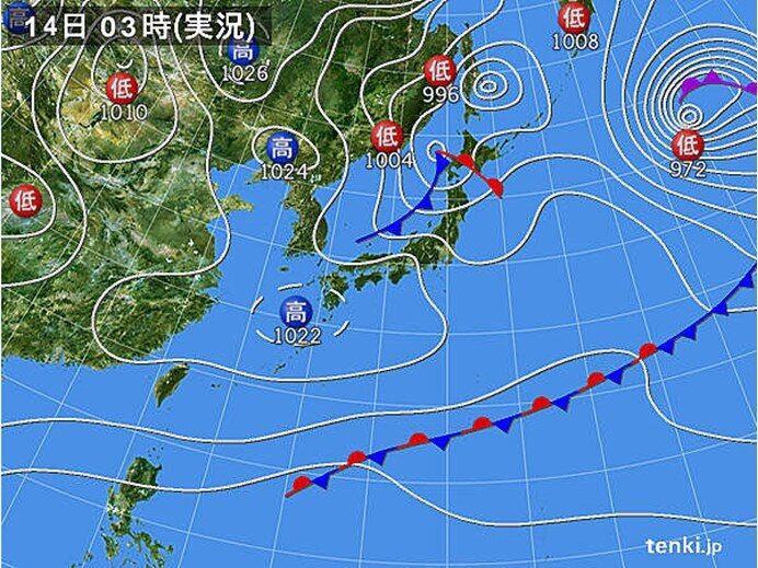 北海道は猛吹雪に警戒