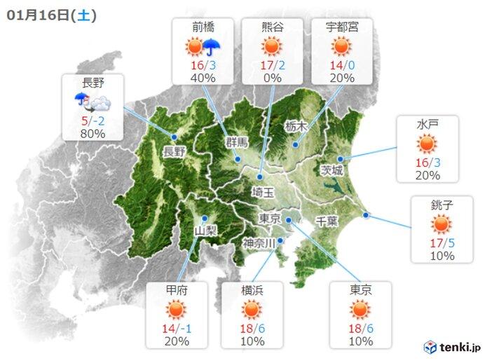 最高気温は4月上旬から中旬並みに