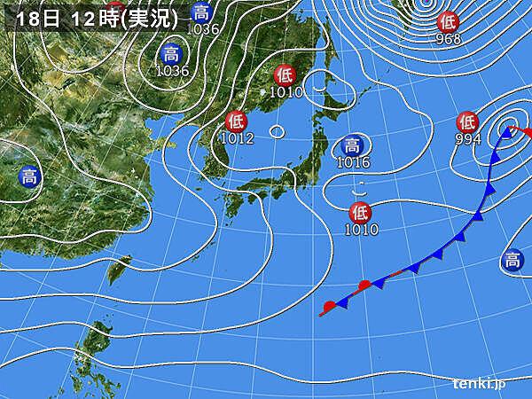 北海道から北陸は暴風雪に 関東など太平洋側でも広く西風強まる
