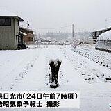 関東甲信 雨雪のピーク過ぎる あすは春のような陽気に 雪崩等注意