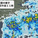 関東 沿岸部で強い雨も 雨はいつまで?