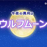 今年最初の満月は「ウルフムーン」 見られる所は?