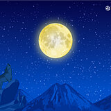 今夜もほぼ満月で観測のチャンスあり 今年最初の満月「ウルフムーン」