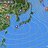 31日 広く晴れ 北陸以北の天気も回復 ただ 晴天は長続きせず