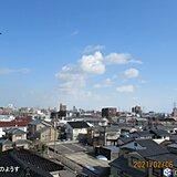 新潟市で今年初の10℃以上 関東から九州は春の暖かさ