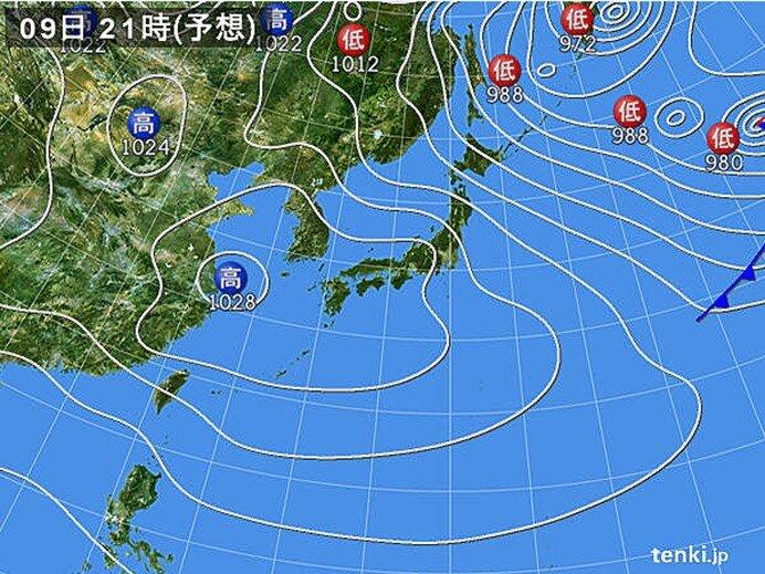 日本海側は大雪に注意