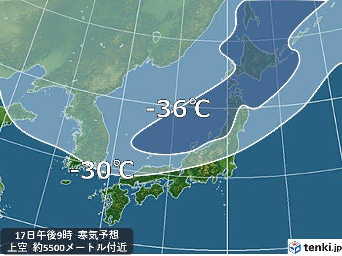 新潟・富山は平地でも大雪か