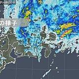 東京都心で1時間に24ミリの雨 2月として1位