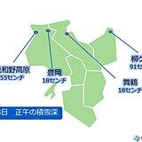 関西 今夜にかけて北部や山沿い中心に大雪の恐れ あす朝は路面凍結に注意
