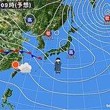 関西 あすの朝は冷え込む 夜は雨や雪が降る所も