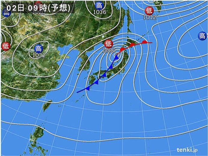 火曜日 九州から東北は広く雨 横殴りの雨も 北海道は雪や吹雪