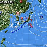 関西 今夜からあす21日にかけて雨風ともに強まる所も