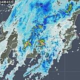 関東 活発な雨雲が接近中 これから広い範囲で横殴りの雨に