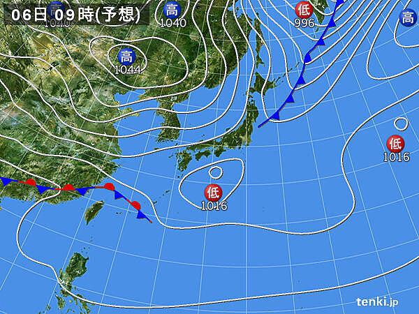 6日土曜 関東から九州は 最高気温20度近い予想