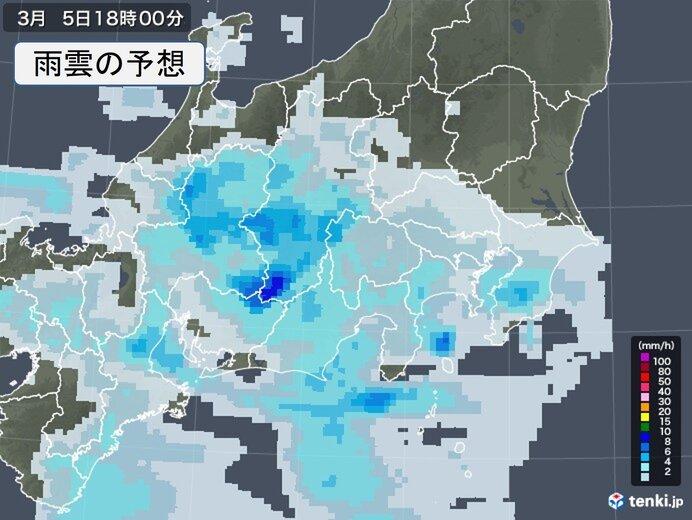 関東 晴れ間も油断せず 夕方から次第に雨 夜は広く雨具が必要に