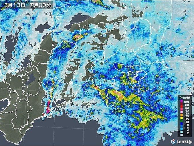 13日(土) 低気圧が関東を通過 広く雨や雷雨に