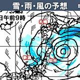あす 関東以西は回復 ヒノキ含め花粉飛散注意 北日本は低気圧近づく