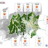 関東 天気回復 気温上昇 都心の桜の開花も間近に迫る