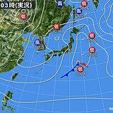26日 広く晴れて季節先取りの暖かさ 関東や北陸以北は局地的に雨雲発生
