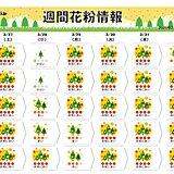 27日も九州から東北で花粉の飛散が「非常に多い」 スギからヒノキへ ピークは?
