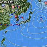 3週連続で「春の嵐」 日曜日から月曜日は雨や風が強まる 荒れた天気の恐れ