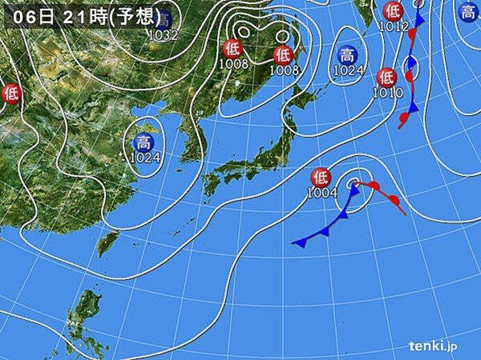 今日の天気 北海道・東北・北陸は日差したっぷり