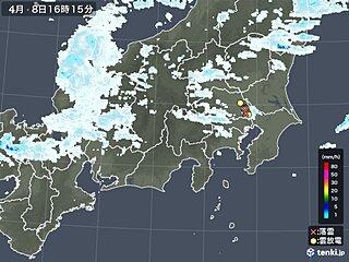 関東 雨雲や雷雲が発生中 落雷も 日付が替わる頃まで注意